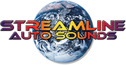 Streamline Auto Sounds logo globe