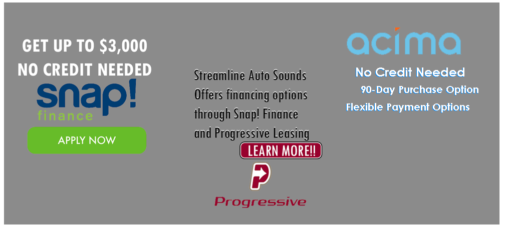 Streamline Auto Sounds banner image